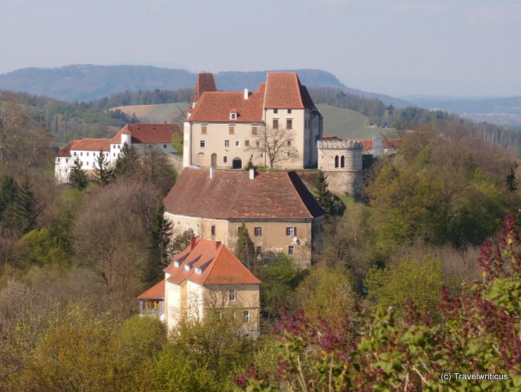 View of Seggau Castle from nearby Frauenberg Hill