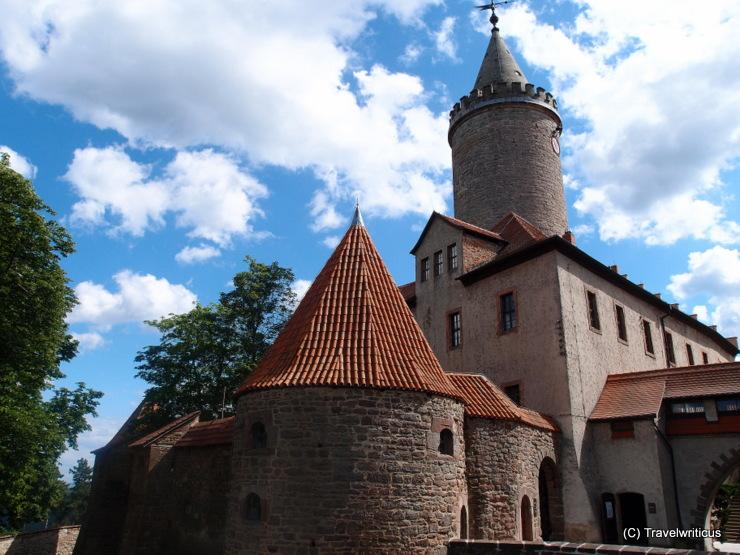 Leuchtenburg Castle in Seitenroda, Germany