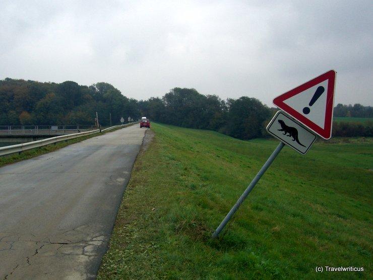 Fun traffic sign in Slovenia