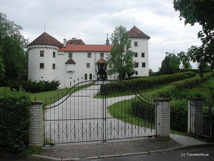Entrance of Grad Bogenšperk, Slovenia