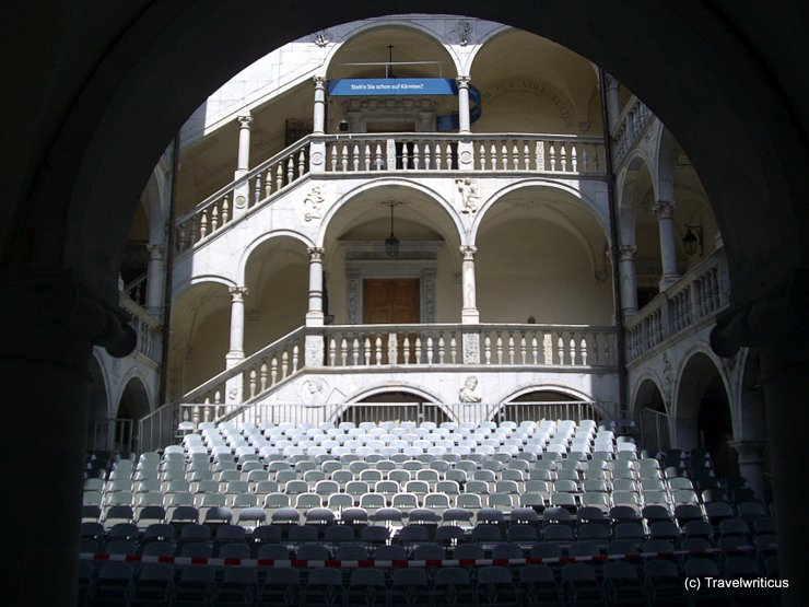 Auditorium at Schloss Porcia, Austria