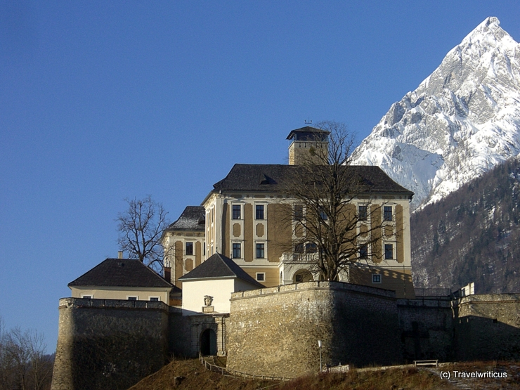 Trautenfels Castle in Stainach-Pürgg