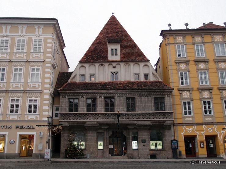 Bummerlhaus, a late gothic mansion in Steyr, Austria
