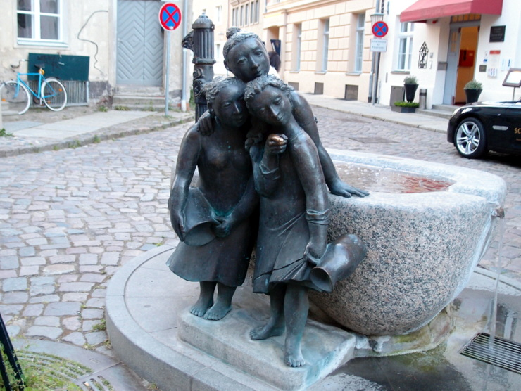 'The Garrulous Women' in Stralsund, Germany