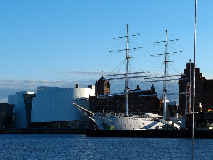 Gorch Fock (1933) in Stralsund, Germany