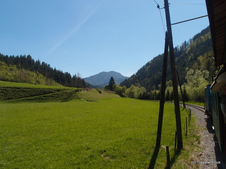 A tributary valley in Styria, Austria