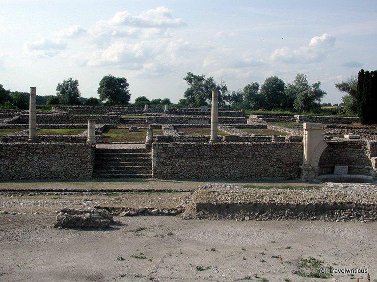 Roman ruins in Tác, Hungary