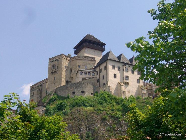 Trenčín Castle in Trenčín, Slovakia