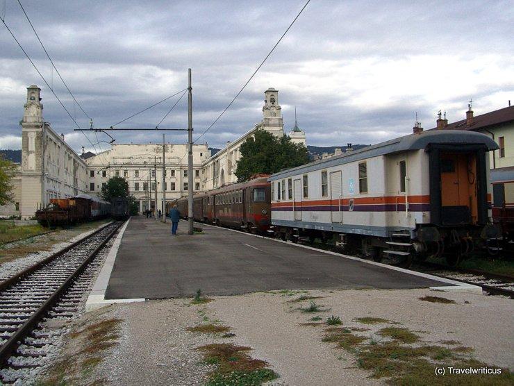 Railway museum of Trieste, Italy