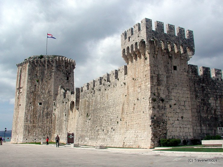 Kamerlengo Fortress in Trogir, Croatia