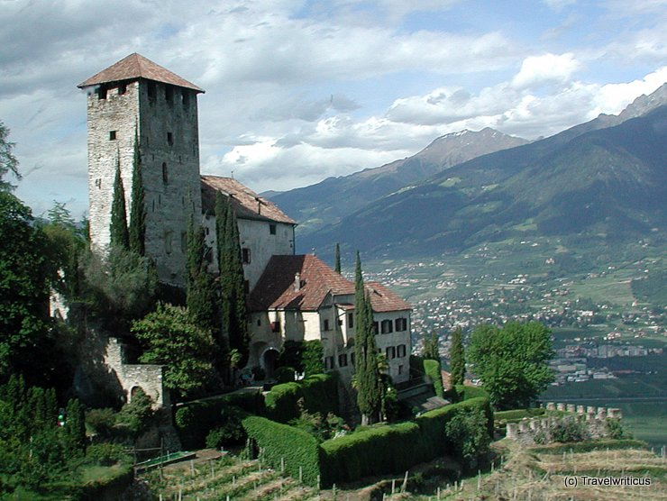 Lebenberg Castle in Tscherms, Italy