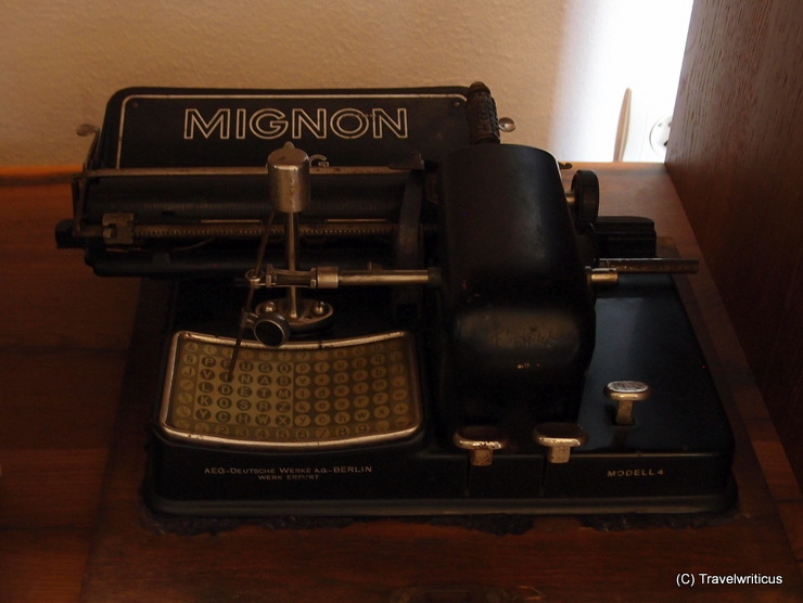 Typewriter Mignon Model 4