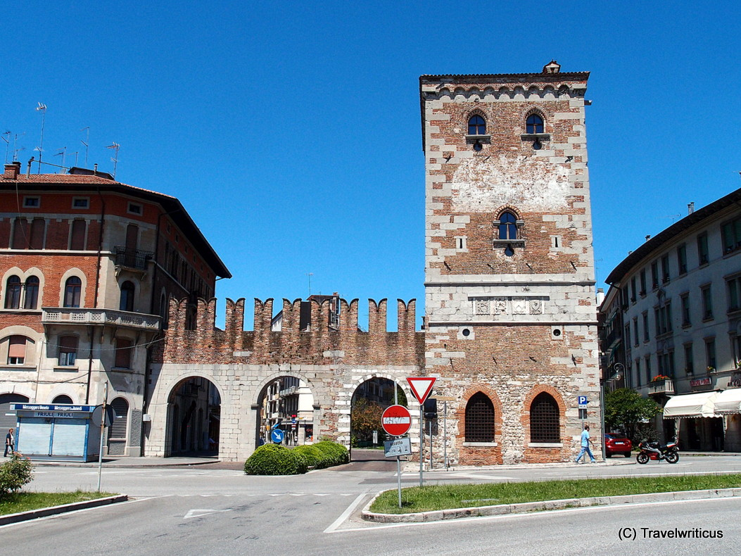 Aquileia gate in Udine, Italy