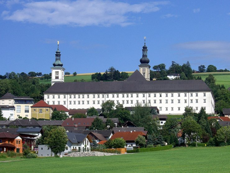 Schlierbach Abbey in Upper Austria