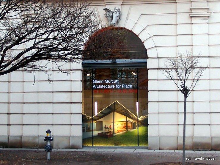 Exhbition about Glenn Murcutt in Vienna, Austria