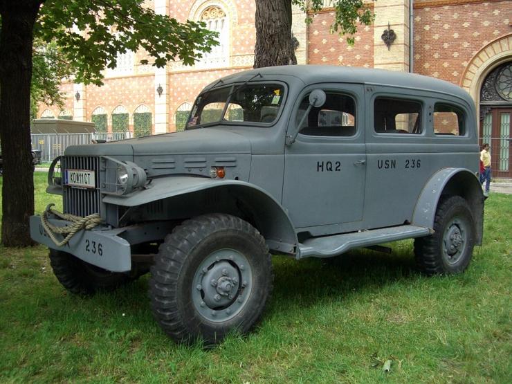 Dodge WC53 in Vienna, Austria