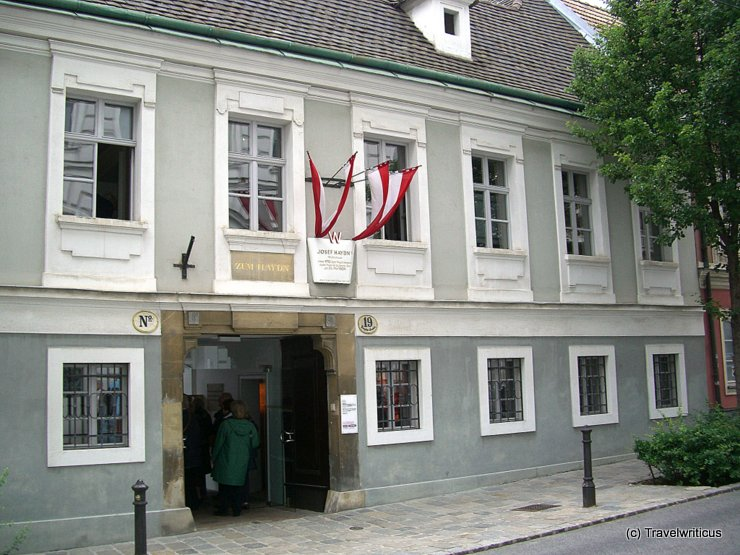 Frontview of the Haydnhaus