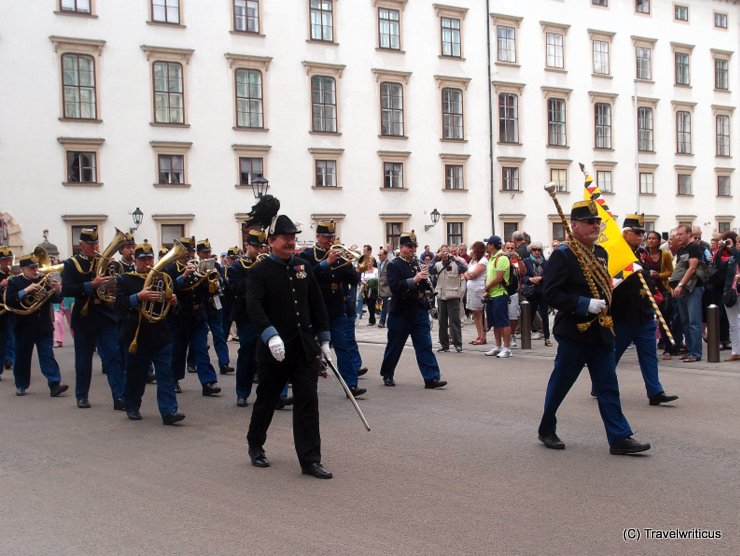 Original Hoch- und Deutschmeister military band in Vienna, Austria
