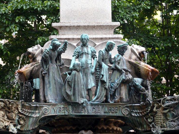 Karl-Borromäus-Brunnen in Vienna, Austria