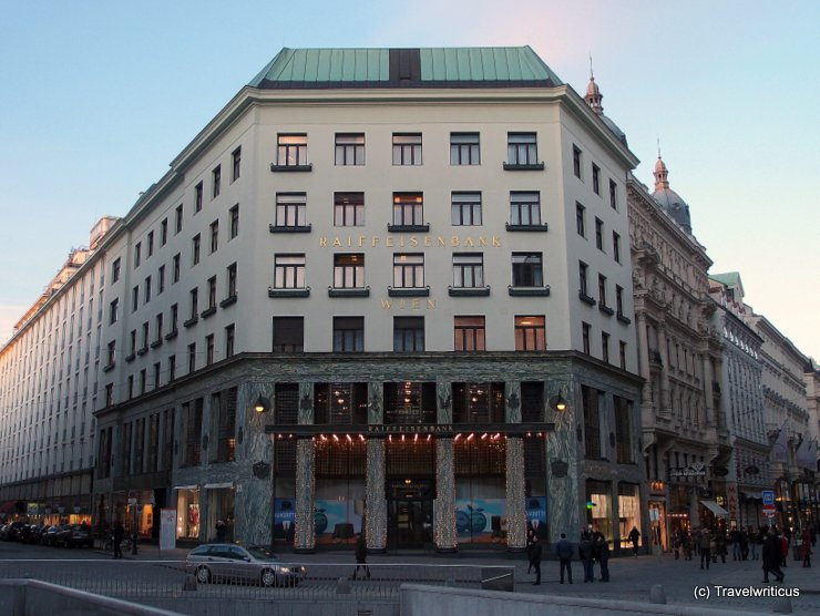 Looshaus in Vienna, Austria