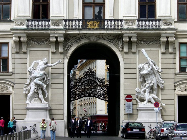 Michaelertor in Vienna