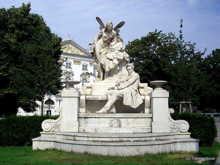 Monument to Ferdinand Raimund in Vienna, Austria