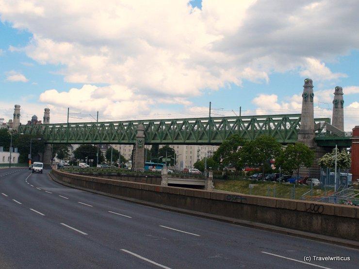Otto-Wagner-Bridge in Vienna, Austria