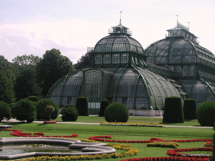 Palm house of Schönbrunn, Vienna