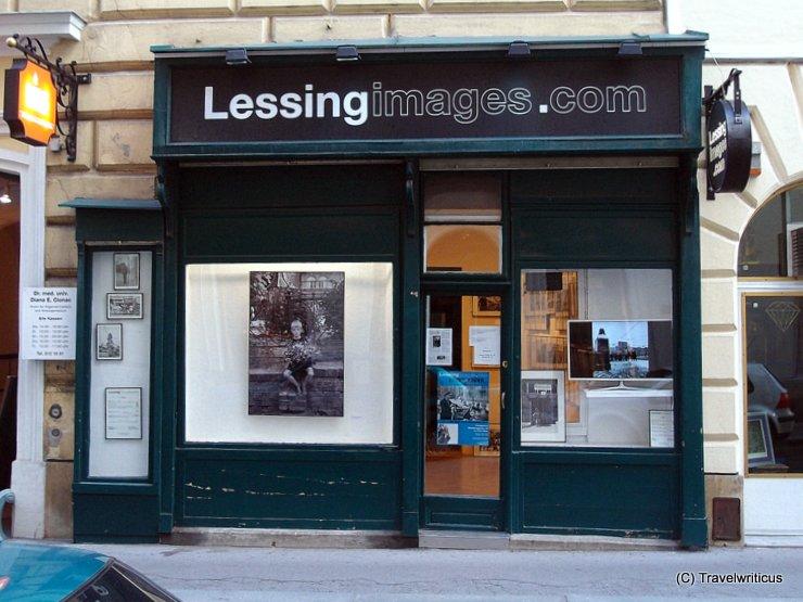 Shop with works by Erich Lessing in Weihburggasse 22, Vienna