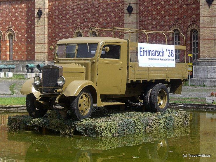 Truck Austria-Fiat AFL (1930s) in Vienna, Austria