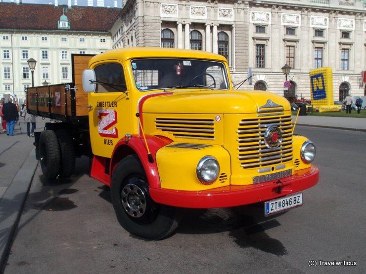 Truck Steyr 480k (1966) in Vienna, Austria