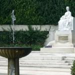 Monument of Elisabeth at Volksgarten in Vienna