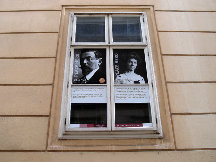 Windows for Peace in Vienna, Austria