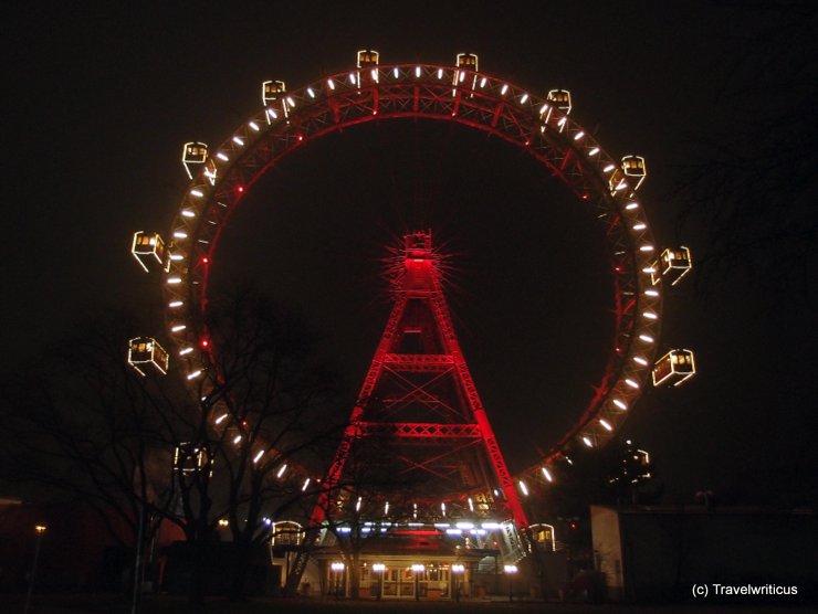 Wiener Riesenrad in Vienna, Austria