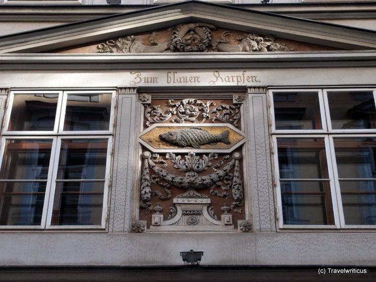 Zum Blauen Karpfen in Vienna (Detail)