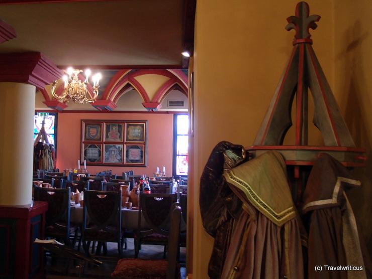 Renaissance restaurant in Visegrád, Hungary