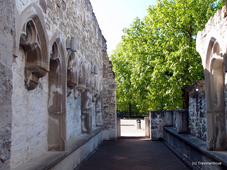 Inside the walls of the Royal Palace in Visegrád, Hungary