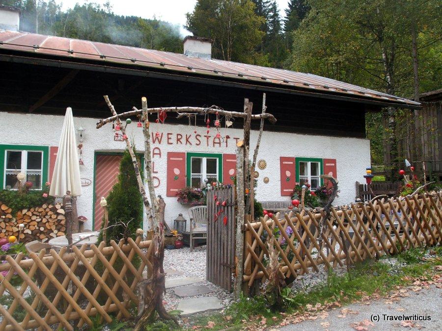 An ateliere named Waldwerkstatt in Zell am See, Austria