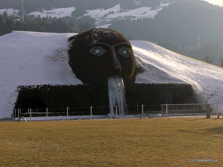 Entrance of the Crystal Worlds in Wattens, Austria