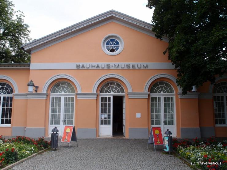 Bauhaus Museum in Weimar, Germany