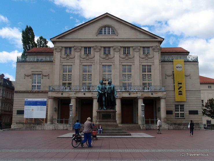 German national theatre in Weimar, Germany