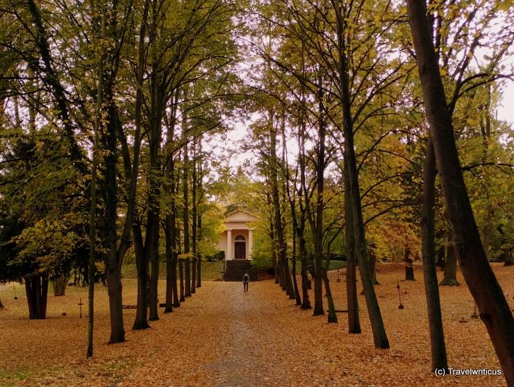Historic cemetery in Weimar