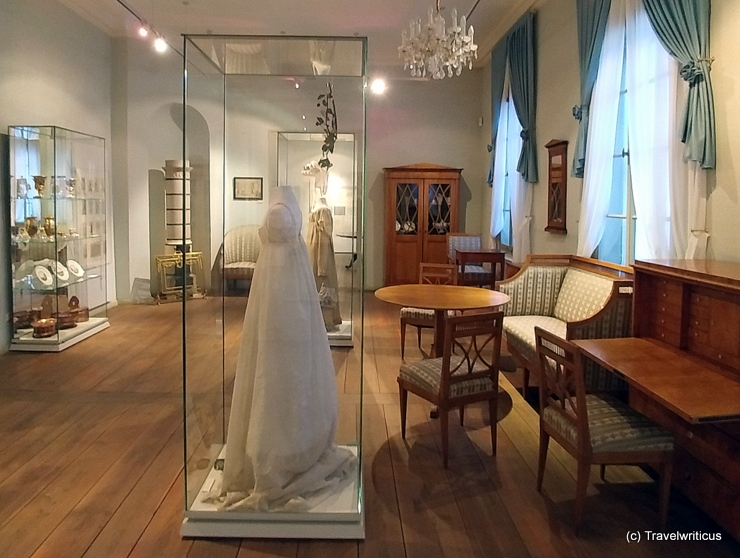 Exhibition room at the municipal museum of Weimar