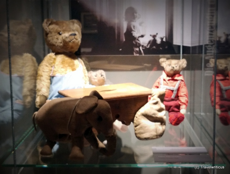 Teddy bears at the municipal museum of Weimar