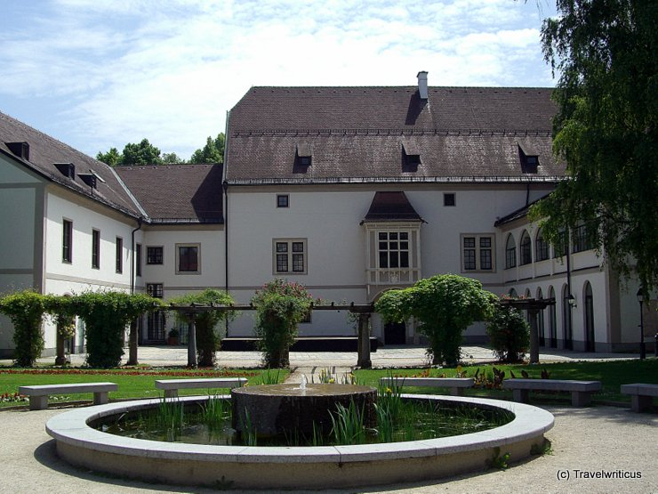 Wels Castle in Wels, Austria
