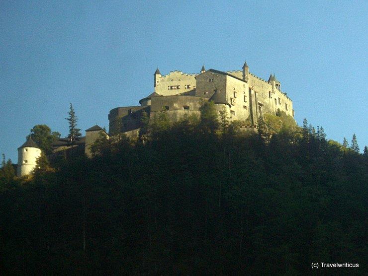 Hohenwerfen Fortress in Salzburg, Austria