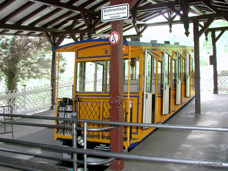Nerobergbahn in Wiesbaden, Germany